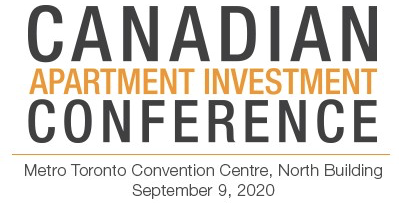 CANADIAN APARTMENT INVESTMENT CONFERENCE2020